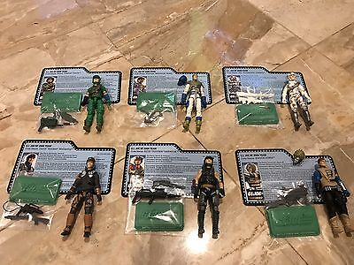GI JOE CONVENTION 2017 FORCE OF BATTLE  FORCE 2000 ALL 6 JOECON CLUB 100%wFC LOT