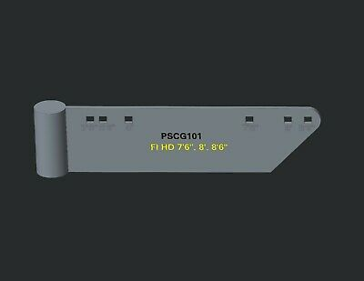 """Snow Plow Curb Guard Set #101 Edge Saver Protector Fit Fisher HD 7'6"""", 8', 8'6"""""""