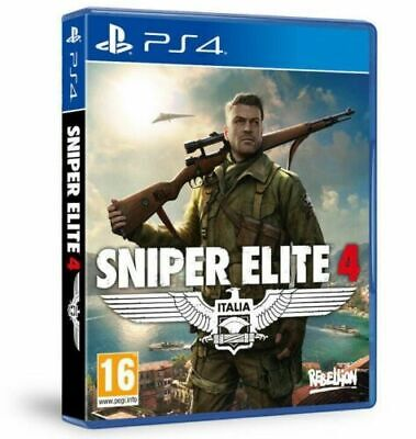 Sniper Elite 4 Ps4 Videogioco Italiano Gioco Play Station 4 Multilingue Nuovo