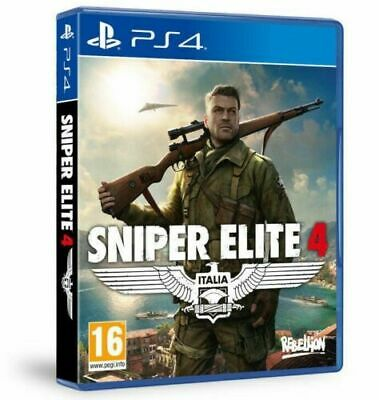 Videogioco Sniper Elite 4 Gioco Ps4 Italiano Play Station 4 Multilngue Nuovo