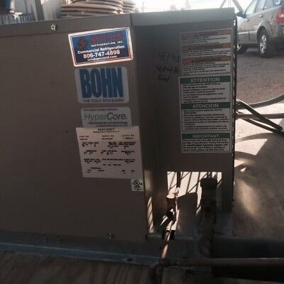 Heatcraft/Bohn:2-1/2 HP Outdoor Air-Cooled Condensing Custom Freezer System