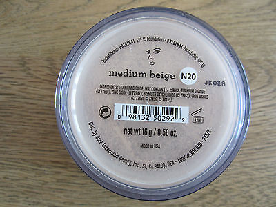 bare Minerals bareMinerals Foundation Medium Beige 16 g LSF 15 Dosiersieb