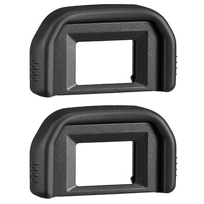 AFUNTA 2 Pack Photo Eyepiece/ Viewfinder Eyecup for CANON Rebel (T5i T4i T3i ...