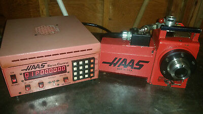 Haas HA5C Rotary Indexer with controller 4th axis air collet closer