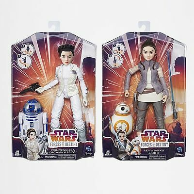 NEW Star Wars Forces of Destiny - Adventure Figure & Friend Assorted
