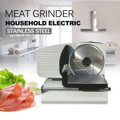 Electric Deli Meat Food Cheese Bread Vegetable Ham Slicer
