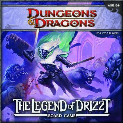 Dungeons & Dragons D&D Legend of Drizzt Board Game