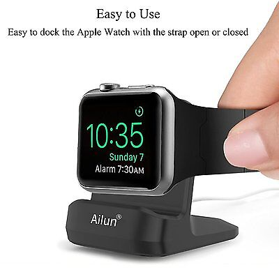 Apple Watch Stand,by Ailun,Small&Compact,with integrated Cable Management Slot