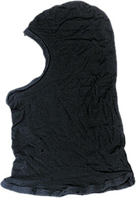 Fly Racing Balaclava Lightweight Cold Weather Silk Cotton Face Mask Black