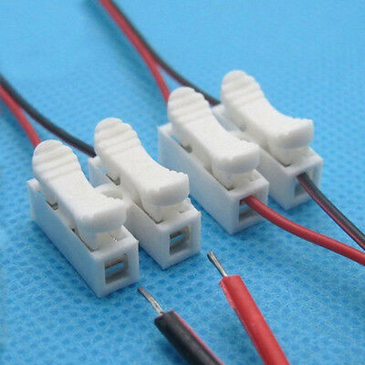 Self Locking Electrical Cable Connectors Quick Splice Lock Wire Terminals