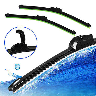 Universal Car U-type Frameless Bracketless Rubber Windshield Wiper Blade Common