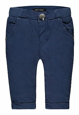 Marc O´Polo Newborn Boys Hose mit Softbund gr. 56 / 2 Monate indigo blue
