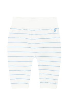 Marc O´Polo Newborn Sweathose / Jogginghose gr. 56 off-white / türkis gestreift