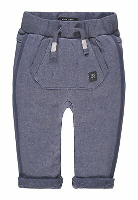 ´Marc O´Polo Newborn Boys Sweathose / Jogginghose gr. 56 blue indigo melange