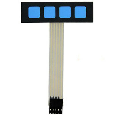 Super Slim 1x4 Matrix 4 Key Membrane Switch Control Keyboard For Arduino LW