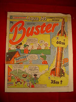 The Buster Comic - 5th July 1986