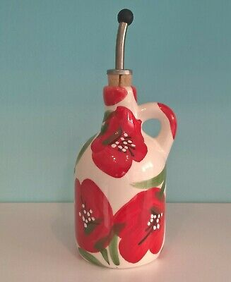 Spanish Ceramic Olive Oil Pourer
