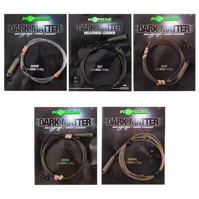Korda Dark Matter Safe Zone Leaders - All Types Available