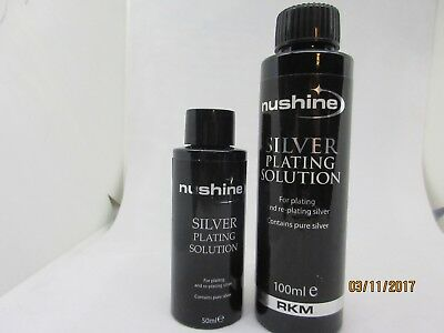 Silver Plating Solution - Two Available Sizes