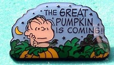 Peanuts Linus Halloween Great Pumpkin Pin Limited!