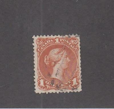 CANADA (LOT MK450)  # 22i    FVF LIGHT USED  1cts  LARGE QUEEN  CAT VALUE $450