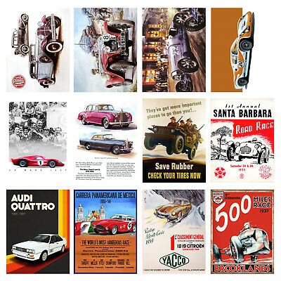 Cars, Retro Metal Signs/Plaques Man Cave, Cool Novelty Gift 6