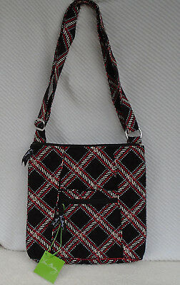 Vera Bradley HIPSTER Crossbody Adjustable Strap MINSK PLAID Outlet Exclusive NWT