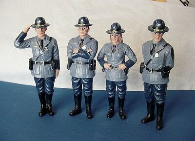 State Trooper Set of 4 figures - 1/18 scale- NEW from AMERICAN DIORAMA