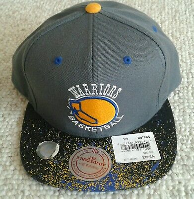 285cf32703a7d ... coupon code new golden state warriors mitchell ness nba logo snapback  hat hardwood classic abc77 ffdab