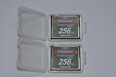 Transcend CompactFlash Industrial ULTRA 256mb; CF-Card z.B. für SPS S5 / S7 etc.