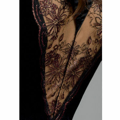 Sexy Y Seductora Con Passion Brida Peignoir Black L/xl | Sexy Xmas