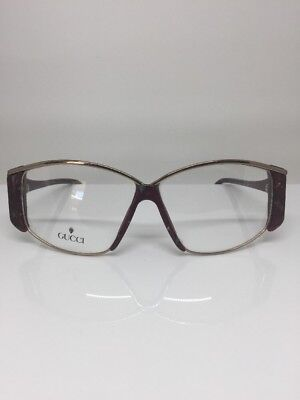 621916b4b419b New Vintage Gucci GG 2308 Eyeglasses Sunglasses Gold   Marble Frames NOS  Italy