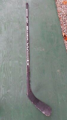 "Vintage Wooden 55"" Long Hockey Stick SHERWOOD SOP PAIMENT"