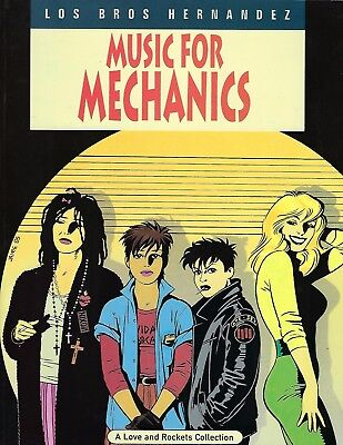 NEW Music for Mechanics A Love and Rockets Collection Gilbert Hernandez 1994