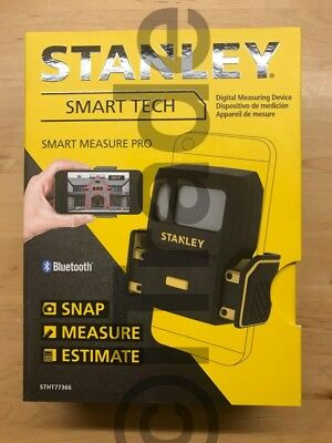 Stanley STHT77366 Smart Tech 450-ft Bluetooth Laser Measurer Pro NEW OpenBox1 FS