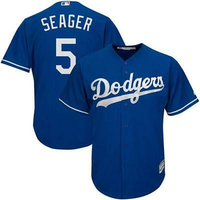 Los Angeles Dodgers Corey Seager Royal Men's jersey