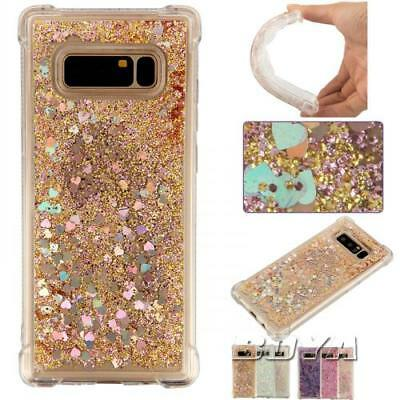 For Samsung Various glitter soft TPU phone case dynamic quicksand rubber Gel