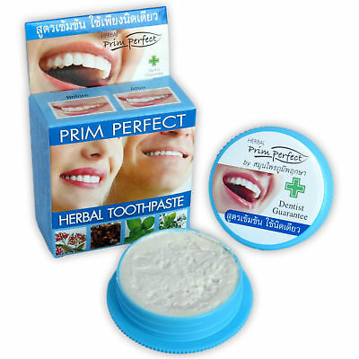 Prim Perfect Natural Herbal Toothpaste Strong Formula 25g