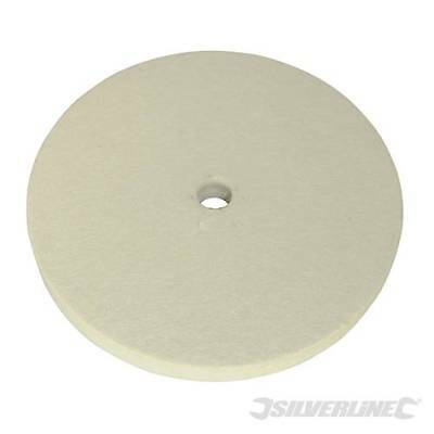 Silverline 105898 150mm Felt Buffing Wheel Polishing Finishing Grinder Metal