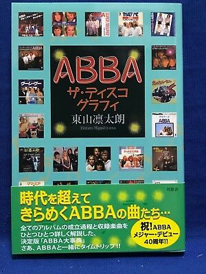 ABBA The Discography Japanese Book 2014 Brand New F/S
