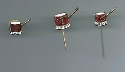 Set Of 3 Llanelli  1932=1982   1872=1972   1872=1997  Rugby Union Badges