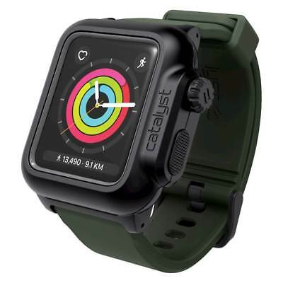 Catalyst - Case for Apple Watch42mm Series 2 and Series 3 - Black/Army Green