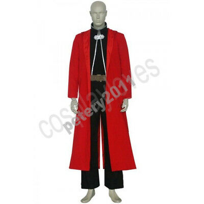 Edward Elric Cosplay Costume from FullMetal Alchemist for Men Custom Made