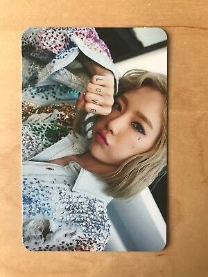 TAEYEON - Why photocard kpop