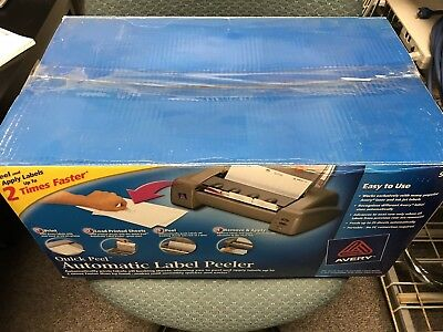 BRAND NEW Avery Quick Peel Automatic Label Peeler Model 9000 Factory Sealed