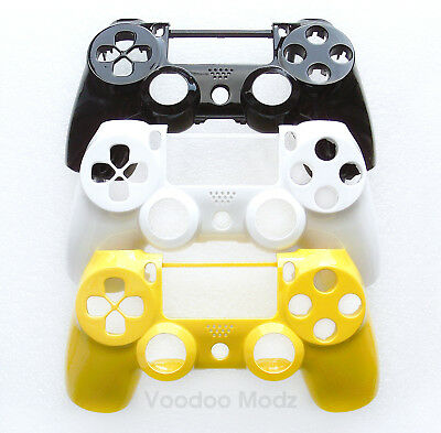 Custom Glossy Playstation 4 Controller Faceplate Housing Shell - PS4 V1 Mod Kit
