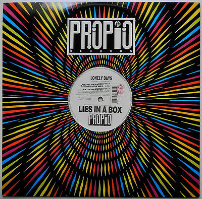"""12"""" It**lies In A Box - Lonely Days (Propio Records '95)***23888"""