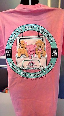 Simply Southern T-Shirt: Always Stay Humble & Kind - Pink