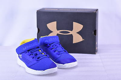 Boy's Under Armour 1299029400 Get B Zee Basketball Shoes True Royal