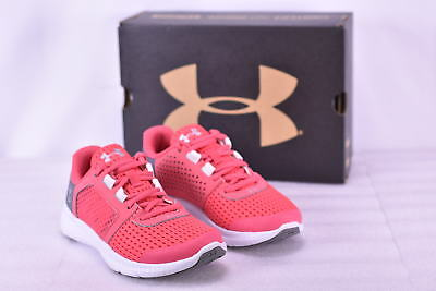Girl's Under Armour 1285442692 Micro G Fuel Running Shoes Gala/White